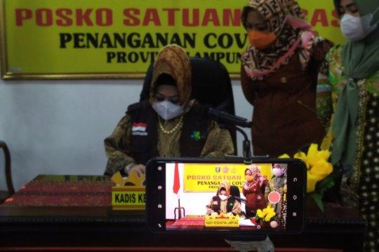 Kasus positif COVID Lampung bertambah 33 dan 1 meninggal