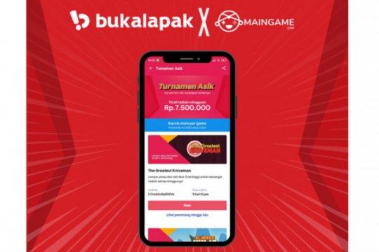 "Dorong industri game Tanah Air, Bukalapak gelar ""Turnamen Asik"""
