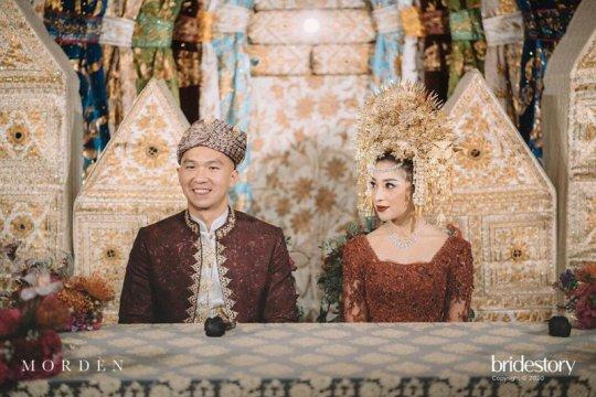 Alasan Nikita Willy pakai adat Minang di acara akad nikah