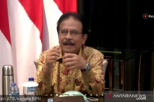 ATR/BPN tengah rampungkan lima RPP aturan pelaksanaan UU Cipta Kerja