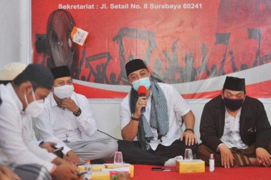 Sejumlah guru TPQ di Surabaya uji Cawali Eri Cahyadi baca Al Quran