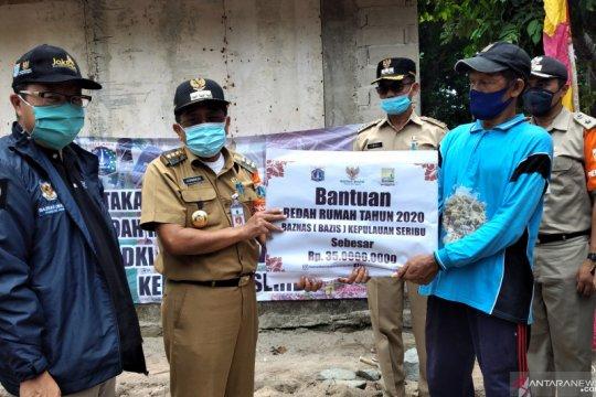 Bupati Kepulauan Seribu memulai program bedah rumah di Pulau Sebira