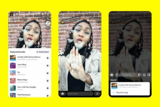 Snapchat hadirkan fitur mirip TikTok, Sounds
