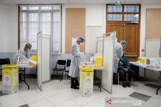 Dalam 24 jam terakhir, Prancis catat 25.086 kasus COVID-19