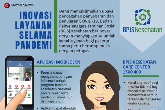 Inovasi layanan BPJS Kesehatan selama pandemi