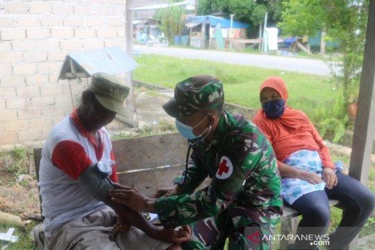 Satgas TMMD berikan pelayanan kesehatan untuk warga