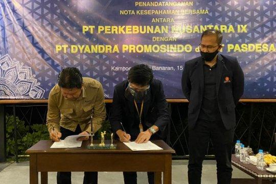 PTPN IX gandeng Dyandra Promosindo kelola Kampoeng Kopi Banaran