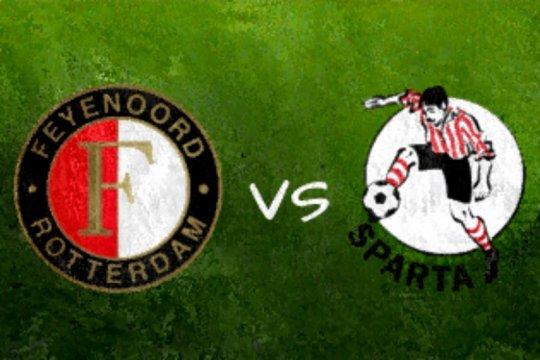 Feyenoord diimbangi Sparta 1-1 dalam derbi Rotterdam