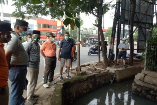 Normalisasi dua titik saluran air Jalan Panjang capai 60 persen