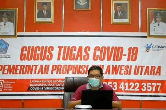 Angka kesembuhan pasien COVID-19 Sulut capai 84,4 persen