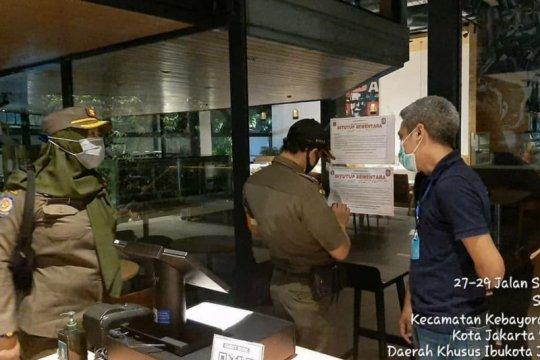 KFC Senopati Jakarta Selatan masih tutup