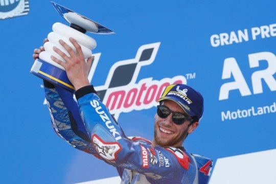 Rins akui kemenangan di Aragon tak semudah di Austin dan Silverstone