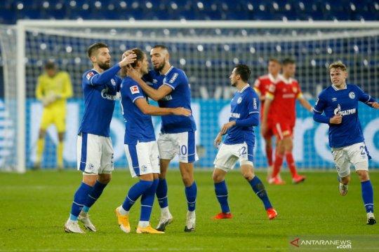 Schalke akhiri rentetan kekalahan saat tahan imbang Union Berlin 1-1