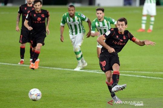 Sociedad gasak Betis untuk rebut posisi puncak