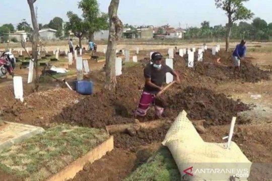 Tambah sembilan, kematian COVID-19 di Kabupaten Bekasi jadi 60 orang