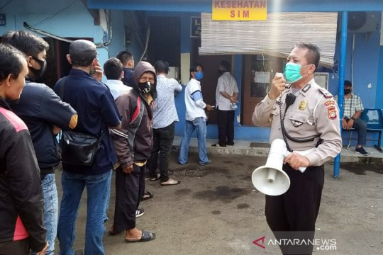 Polda Metro Jaya buka lima gerai layanan SIM Keliling