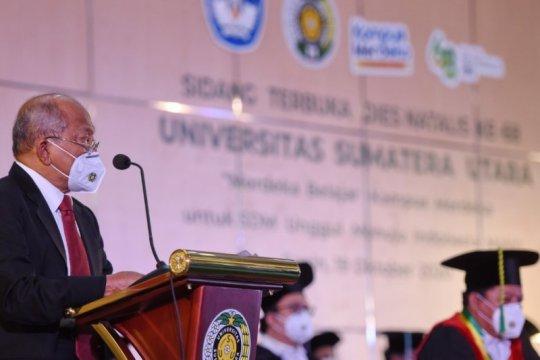 Raih Akreditasi A, MWA sampaikan penghargaan pada USU