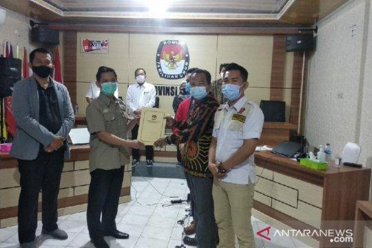 KPU Bengkulu tetapkan Agusrin-Imron peserta Pilgub