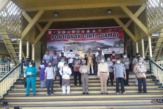 Sultan Pontianak imbau masyarakat tidak anarkis saat demo