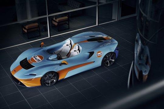 McLaren luncurkan Elva Roadster bergaya Gulf