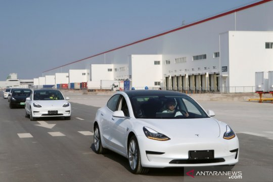 "Tesla ""made in China"" diekspor ke Eropa"