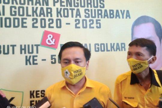 Golkar Surabaya geram adanya tudingan Machfud-Mujiaman merusak kota