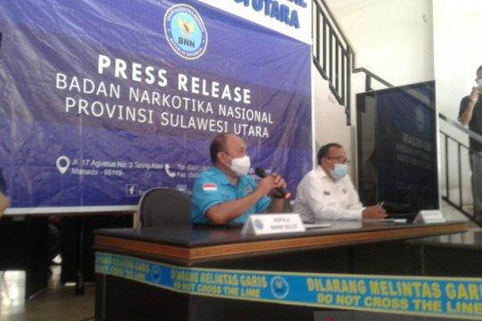 BNNP Sulut kembangkan penyidikan kasus 1,2 gram sabu-sabu