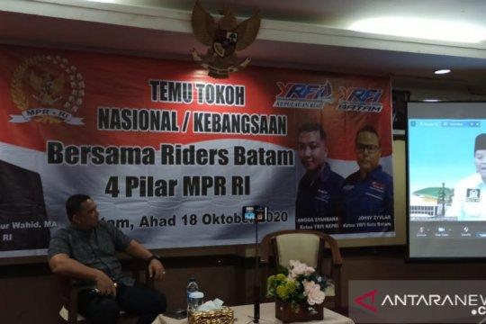 """MPR: """"riders"""" bisa jadi contoh pelaksanaan Empat Pilar"""