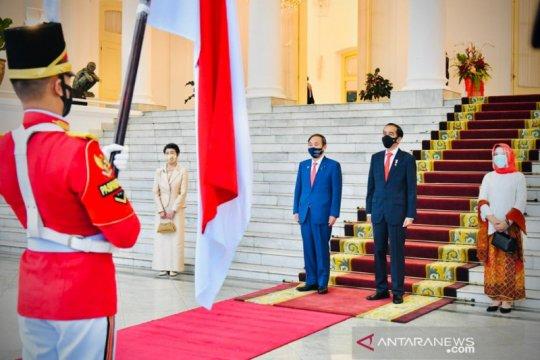 Jokowi sebut kunjungan PM Jepang simbol komitmen kemitraan strategis