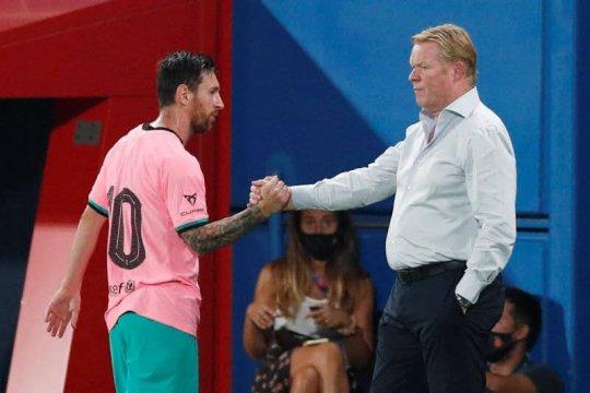 Koeman berharap Messi tampil cemerlang melawan Osasuna