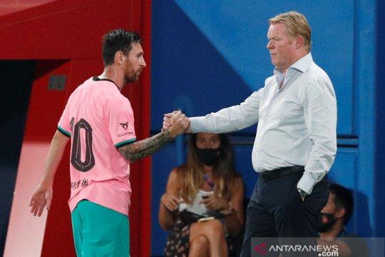 Koeman kritik penampilan Lionel Messi jelang Liga Champions