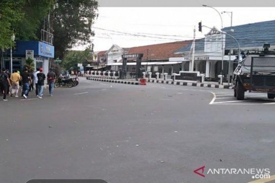 Jelang kedatangan PM Jepang, jalan di seputar Istana Bogor steril