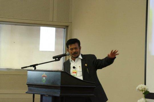 Mentan berharap Unhas ikut andil dalam riset dan teknologi pertanian