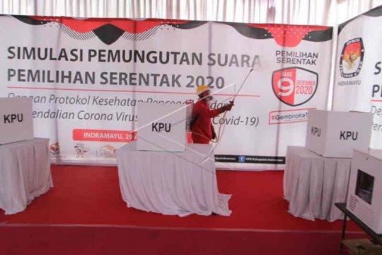 KPU Indramayu pastikan tiap tahapan pilkada sesuai protokol kesehatan