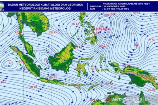 BMKG Aceh: Cuaca ekstrem berpeluang timbulkan belokan angin