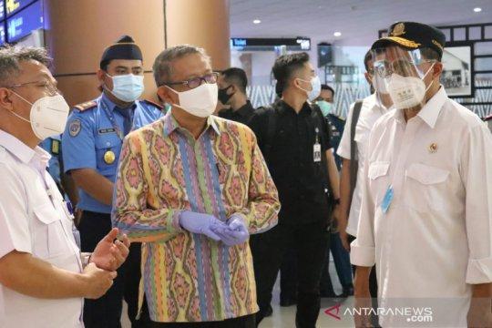 Gubernur Kalbar dan Menhub matangkan perpanjangan Bandara Supadio