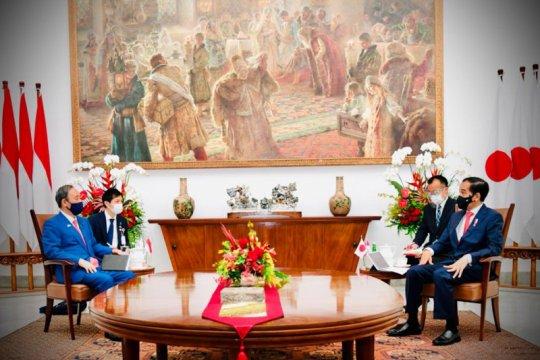 PM Suga harapkan kerja sama Indonesia terkait penculikan warga Jepang