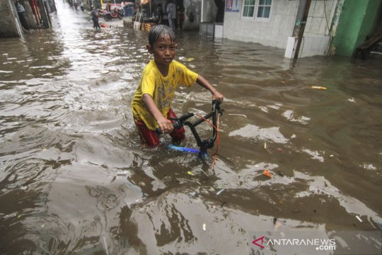 Banjir di Citayam Depok