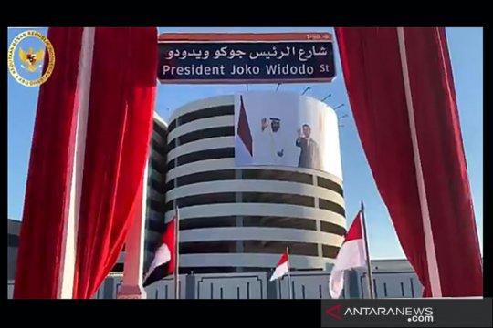 Pemerintah UAE resmikan Jalan Presiden Joko Widodo di Abu Dhabi