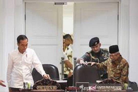 Setahun Jokowi-Ma'ruf, Pemerintah tunjukkan sinyal perbaikan ekonomi