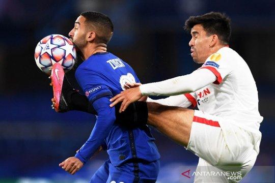 Chelsea dan Sevilla main imbang, selaras tren laga pembuka Grup E