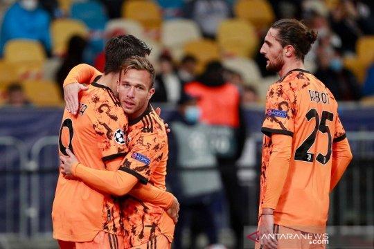 Dwigol Morata menangkan Juventus di Kiev