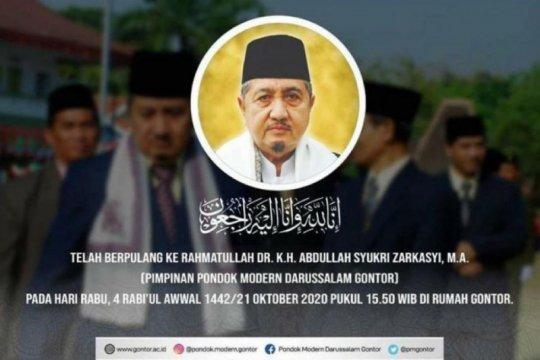 "Khofifah doakan KH Abdullah Syukri ""husnul khotimah"""