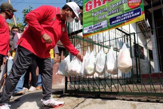 """""""Mlaku-Mlaku Tilik Kampung"""" sadarkan warga terapkan protokol kesehatan"""