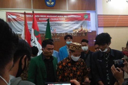 Polemik UU Cipta Kerja, BEM Nusantara ajak elemen bangsa tahan diri