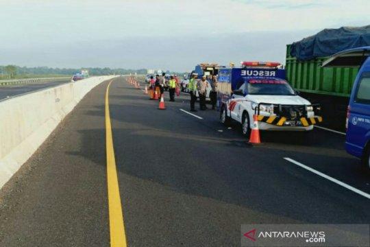 Empat orang tewas dalam kecelakaan di Tol Kayuagung