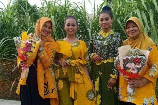 Penjualan Batik Leni di Medan menurun selama pandemi COVID-19