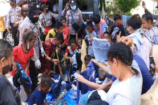 Dapur umum siapkan 2.700 bungkus untuk pengungsi di Jayapura