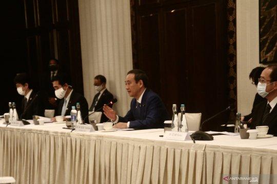 PM Suga: Jepang tak akan biarkan ada intimidasi di Laut China Selatan