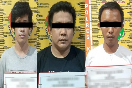 Polisi tangkap oknum ASN Kapuas pengedar narkoba